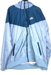 nike windrunner light blue