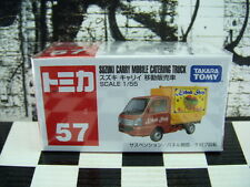 TOMICA #57 SUZUKI CARRY MOBILE CATERING TRUCK 1/55 SCALE NEW IN BOX