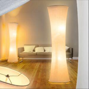 Stehlampe Stand Boden Lampen Lese Licht Leuchten Schlaf Wohn Zimmer Schirm Büro