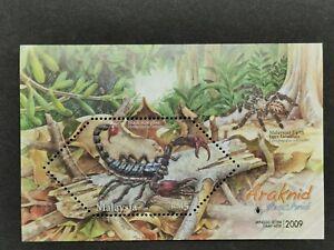 Malaysia-2009-arachnid-araknid-MS-MNH