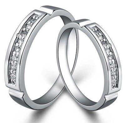 925 Sterling Silber Ring Ringe SilberringTrauringe Eheringe Partnerringe Design