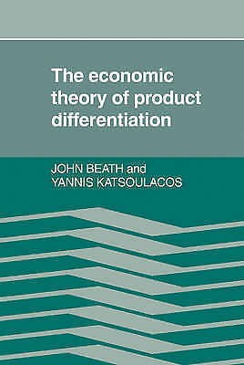 1 of 1 - The Economic Theory of Product Differentiation-ExLibrary