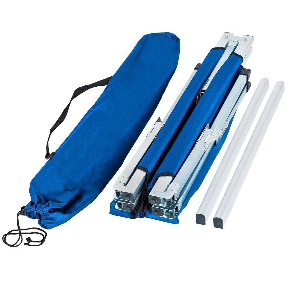3 Feltsenge i aluminium blå