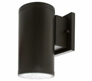 Westgate LED Outdoor Cylinder Light - Up/Down Wall Sconce Lamp Fixture