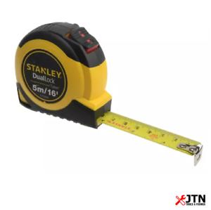Stanley 036806 duallock ™ Tylon ™ bande de poche 5 m//16 Ft environ 4.88 m largeur 19 mm