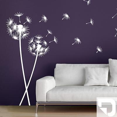 wandtattoo pusteblumen im wind pusteblume set designscape