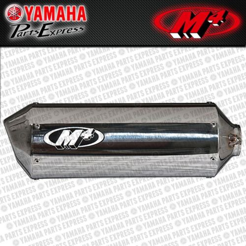 2001-2005 YAMAHA FZ1 FZ 1 M4 STANDARD MOUNT POLISHED SLIP ON EXHAUST MUFFLER