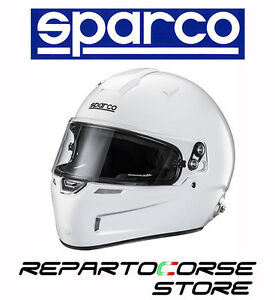 CASCO-SPARCO-RACING-AIR-PRO-RF-5W-FIBARGLASS-BIANCO-FIA-8859-SNELL-003345