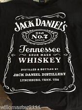 Jack Daniels BIRTHDAY 2012 T-Shirt MEDIUM  Mens Black