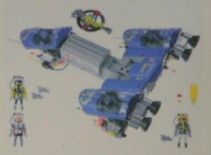 Pièce de rechange Accessoire et Personnages spatial Playmobil