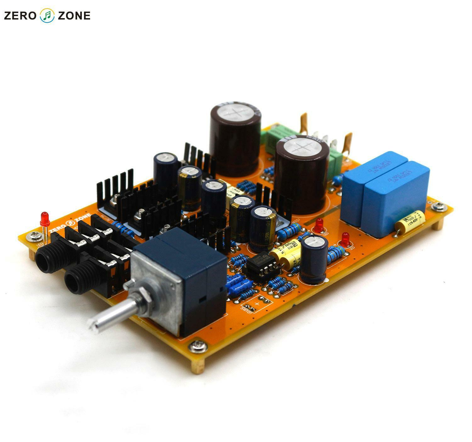 Headphone Amplifier Preamp Board Kit Base On Lehmann Linear Amp Circuit With Alps Pot Operating Voltage Recommended Ac15v 0 Pcb Specifications 105 150mm