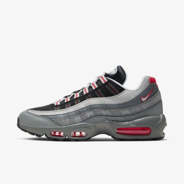 Nike Air Max 95 Essential Men's Shoes Sneakers GrayRed CI3705 600 US 7 13