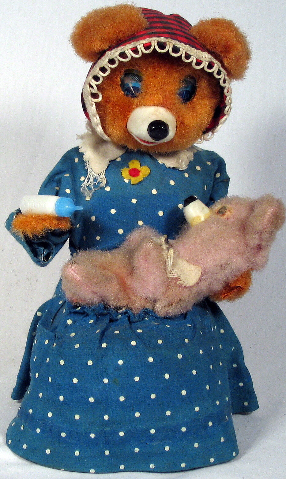 Hungry Baby Bear, 1950s Y Co. Co. Co. FULLY OPERATIONAL. 072cbc
