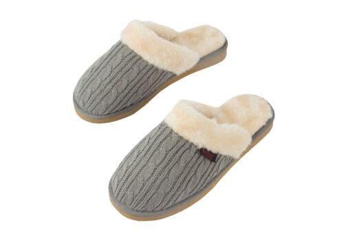 Pro11 bien-être Women/'s Knit Orthotic chaussons confort Arch Support Plantaire
