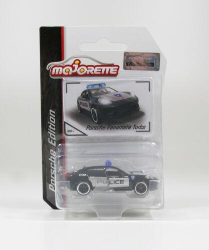 Porsche Panamera Turbo 971 POLICE Majorette 212053057  1//64