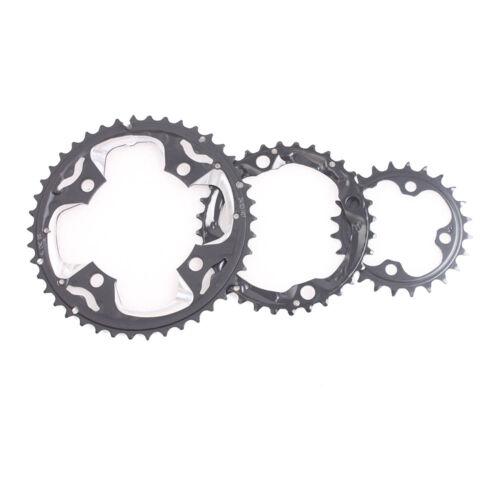 MTB Bike Triple 10 Speed Crankset Chainset /& BB 104//64BCD 24//32//42T Chainring