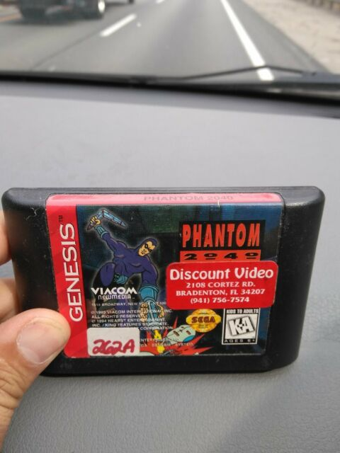 Phantom 2040 (Sega Genesis, 1995)  **TESTED** make offer