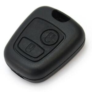 Coque-Cle-Clef-Boitier-Telecommande-Plip-Pour-PEUGEOT-107-207-307-206-306-406