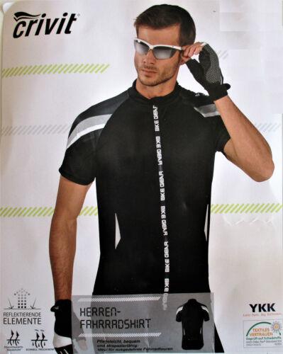 CRIVIT Sports Herren Fahrradshirt Fahrrad Shirt Radshirt Radtrikot Rad Trikot