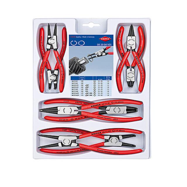 Knipex 00 20 04 V01 Circlip Pliers Set (002004V01)