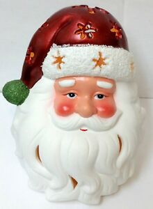 image is loading qvc christmas decoration santa claus flameless led candle