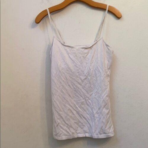 Charlotte Russe white shelf bra top
