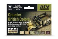 Vallejo 71.211 AFV Color Series British Caunter Colors 6x17ml