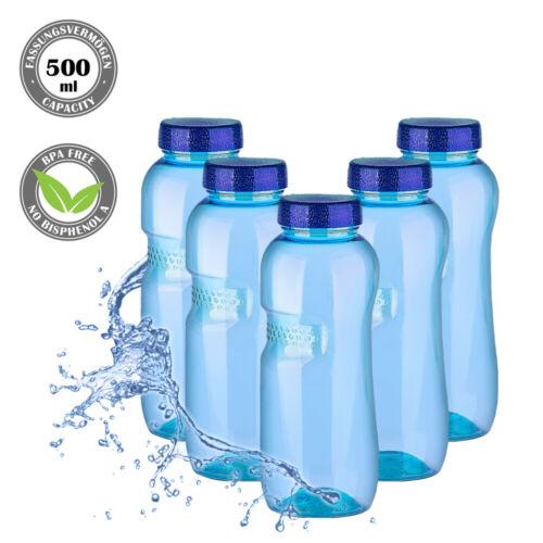 5 Pièces Tritan Bouteille 500 ml BPA Libre Bouteille Sport Eau kavodrink 5pcs
