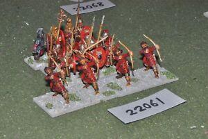 Époque romaine 25 mm / - Légionnaire tardif Inf. Infanterie de 16 Figues (22061)
