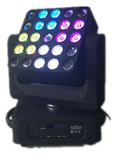 25X10w RGBW 4in1 led magic beam moving head matrix beam light
