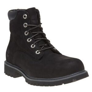 6` Negro Lace Nubuck Alburn hombre Nuevo Up para Timberland Boots aS5txHHqw