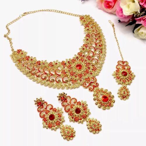 Indian Asian Bridal Wedding Bollywood Designer Necklace Set Ethnic Jewellery