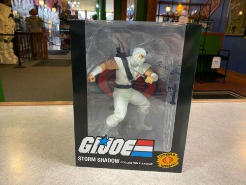 "2020 PC Collectibles GIJoe Cobra STORM SHADOW 10/"" Inch 1//8 Statue Figure NIB"