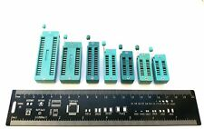 Zif Dip Ic Socket Great For Arduino 14 16 20 24 18 28 3240 Pins Uk Seller