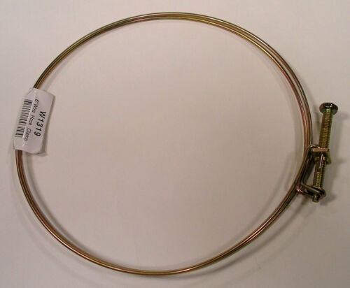 """A Pair 2.5/"""" Wire Hose Clamps Dust Collector Collection"""
