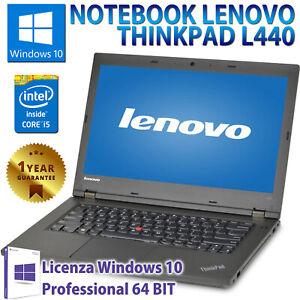 NOTEBOOK-PORTATILE-RICONDIZIONATO-LENOVO-L440-14-034-CORE-i5-8GB-SSD-240GB-WINDOWS