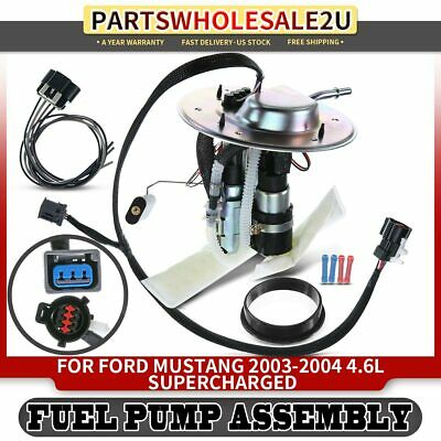 w//Sending Unit Fuel Pump For 1999-2000 Ford Mustang Module Assembly Gas Eng