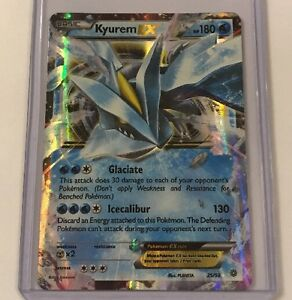 POKEMON TCG XY ANCIENT ORIGINS KYUREM EX 25//98 RARE HOLO EX