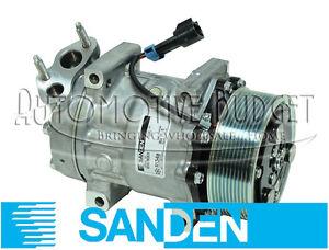 Sanden 4347 A/C Compressor w/Clutch International/<wbr/>Navistar - NEW OEM