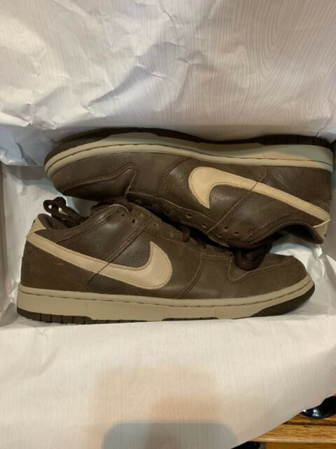 info for 1c0f7 f3ad8 2004 Nike Dunk Low Pro SB Dark Mocha Chino Brown 304292-225 Size 9.5