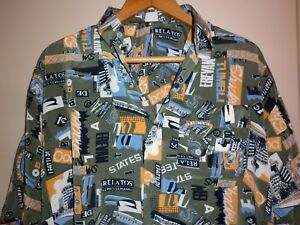 VINTAGE-POLYESTER-FUNKY-PRINT-SHIRT-SIZE-XL-EXC-CONDITION