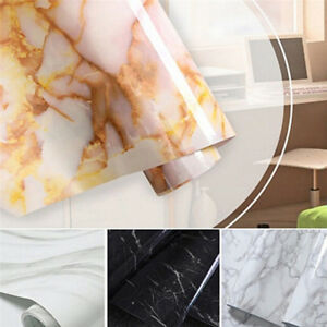 Granite-Look-Marble-Effect-Contact-Paper-Film-Vinyl-Self-Adhesive-50CM-Wallpaper