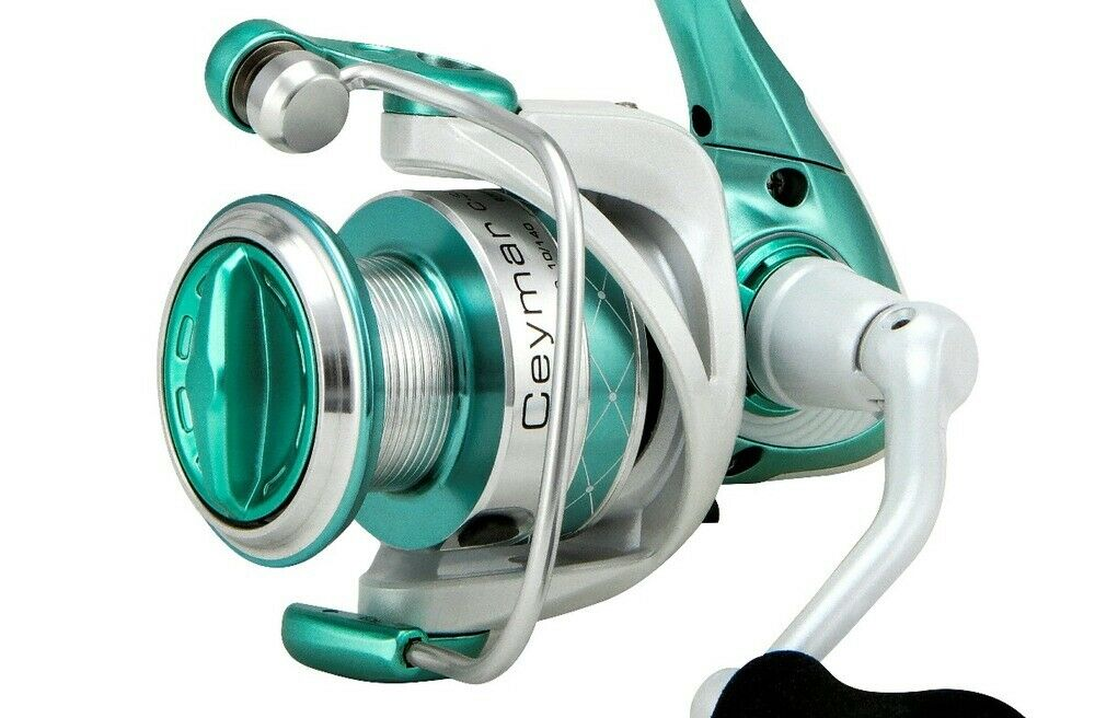 Okuma Ceymar Tiara 30T 7 + 1 s s B B  Fishing Reel - Limited Edition Spin Reel