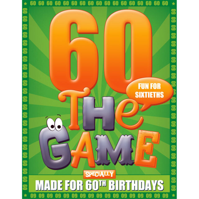 happy 60th birthday card game go for it games ebay