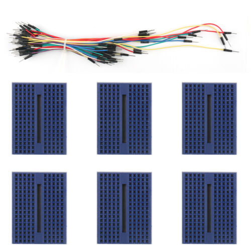 Jumper Wire UE Breadboard 830 400 700 170 Point Solderless Prototype PCB Board