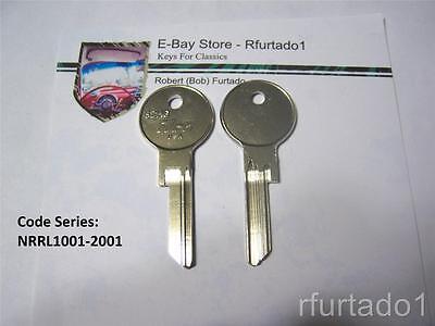 Bentley 1981 to 1991 Valet Key 62HG Key Blank for Vintage Rolls Royce