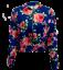 Womens-Ladies-Scuba-Long-Sleeve-Zip-Front-Bomber-Jacket thumbnail 19