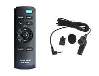 Alpine Genuine Rue-4202 Rue4202 4202 Remote & Microphone For Alpine