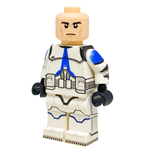 Custom-LEGO-Star-Wars-Minifigure-501st-Clone-Trooper-No-Helmet