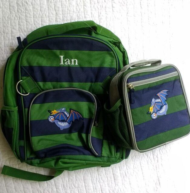 Nwot Pottery Barn Kids Large Boys Backpack Quot Ian Quot Monogram